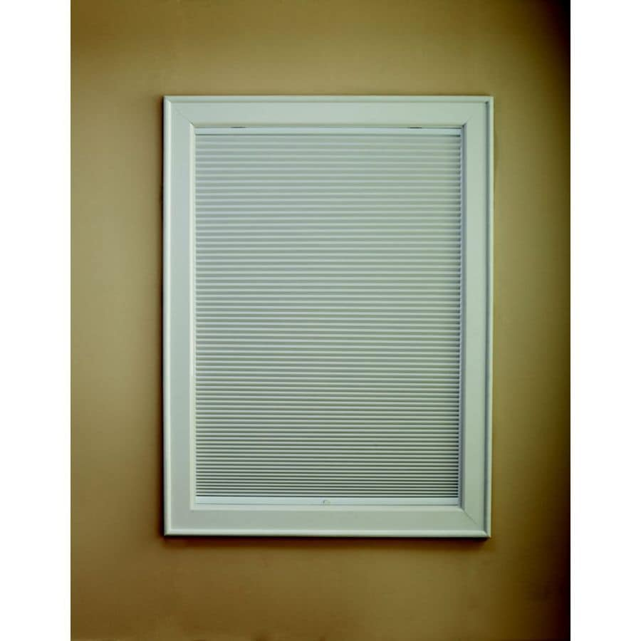 Custom Size Now by Levolor Snow Light Filtering Cordless Polycotton Cellular Shade (Common 48-in; Actual: 47.5-in x 72-in)