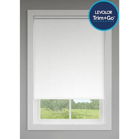 LEVOLOR Trim+Go Dove Room Darkening Cordless Indoor Roller Shade (Actual: 73-in x 72-in)
