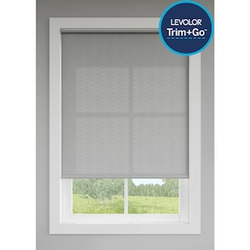 LEVOLOR Trim+Go Oyster Light Filtering Cordless Indoor Roller Shade (Actual: 73-in x 72-in)