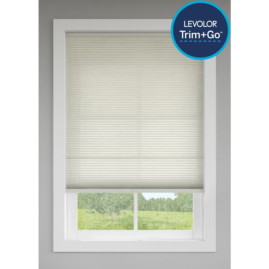 Levolor Sand Light Filtering Cordless Polycotton Cellular Shade (Common 72.0-in; Actual: 71.5-in x 72.0-in)