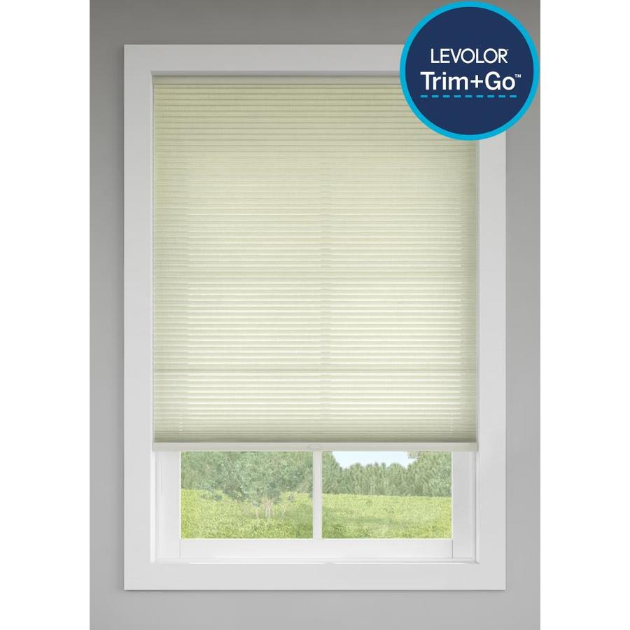 Levolor Candlelight Light Filtering Cordless Polycotton Cellular Shade (Common: 48-in; Actual: 47.5-in x 72-in)
