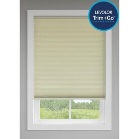 LEVOLOR Trim+Go Candlelight Room Darkening Cordless Cellular Shade (Actual: 23.5-in x 72-in)