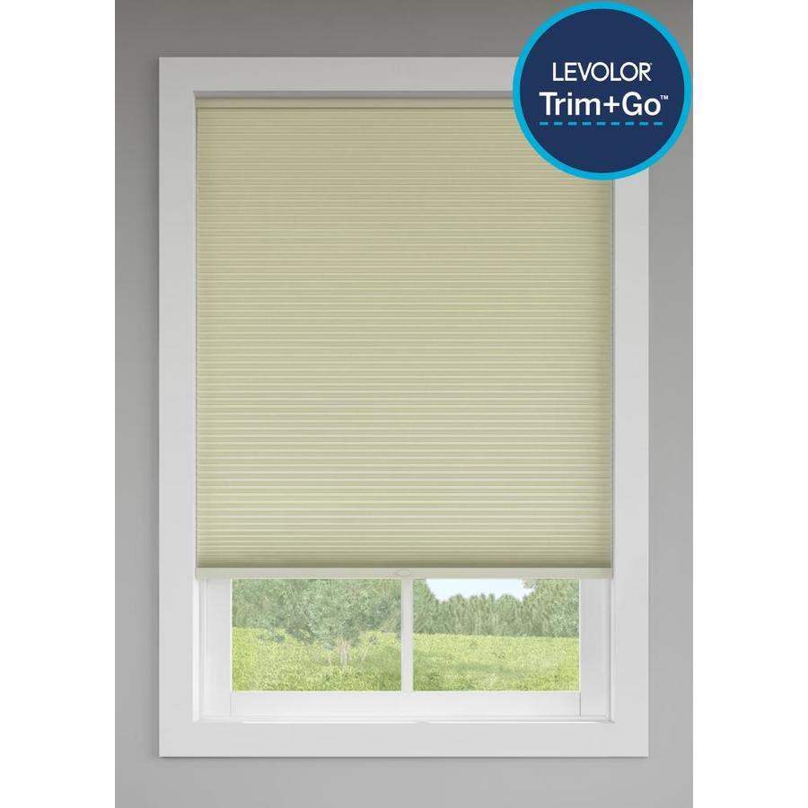 Custom Size Now by Levolor Candlelight Room Darkening Cordless Polycotton Cellular Shade (Common: 48-in; Actual: 47.5-in x 72-in)