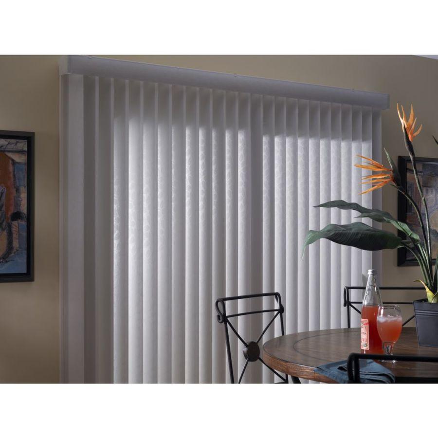 Levolor White Aluminum Headrail Blinds Common 66 In