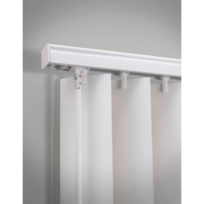 Levolor Trim Go White Aluminum Headrail Blinds Common 78 In
