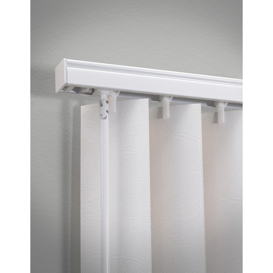 Levolor White Aluminum Headrail Blinds Common 104 In