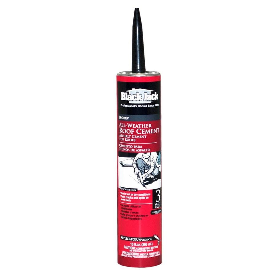 Black Jack 10 Fl Oz Waterproofer Cement Roof Sealant At