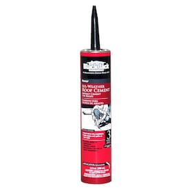 BLACK JACK 10-fl oz Waterproofer Cement Roof Sealant