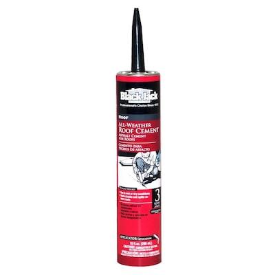BLACK JACK 10-fl oz Waterproofer Cement Roof Sealant at