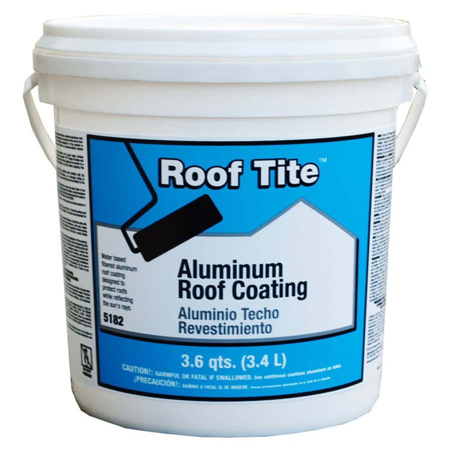 Roof Tite 3.6 Quart(S) Aluminum Reflective Roof Coating (1-year Limited Warranty)