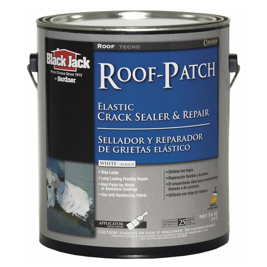 BLACK JACK 3.6-Quart Elastomeric Reflective Roof Coating (10-Year Limited Warranty)