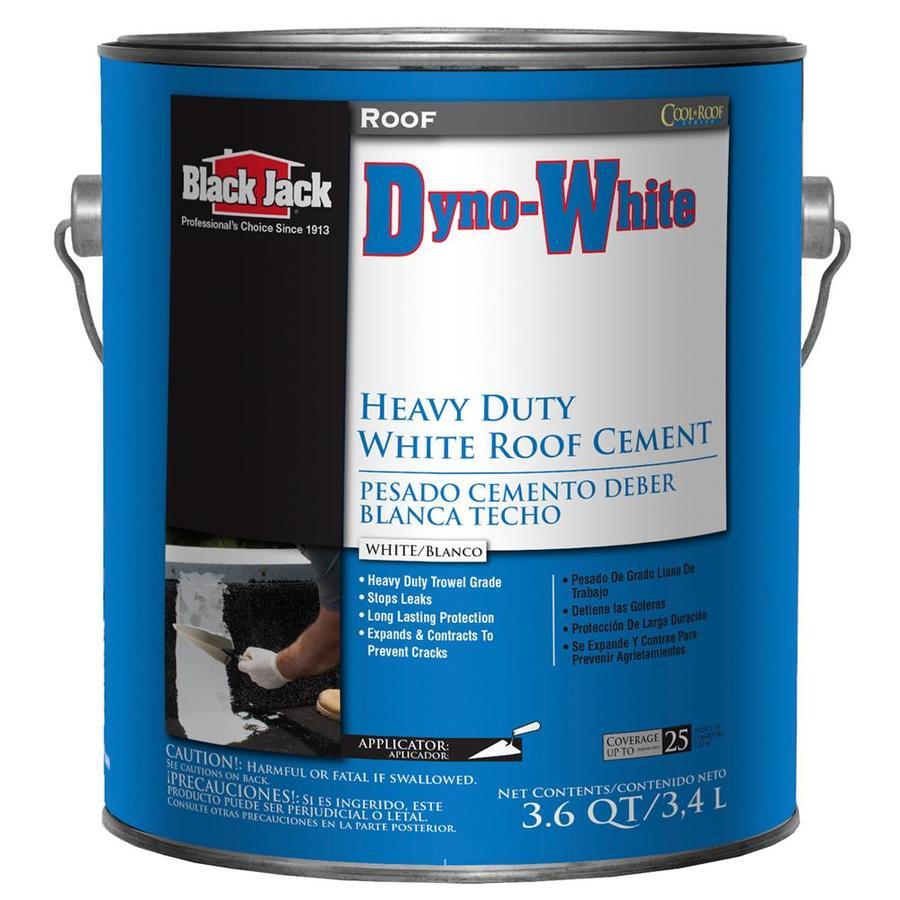 Shop Black Jack Dyno White 3 6 Quart S Cement Roof