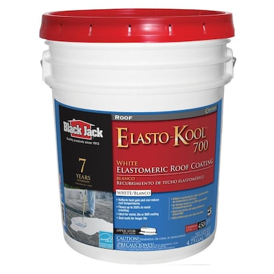 BLACK JACK Elasto-Kool 700 5-Gallon Elastomeric Reflective