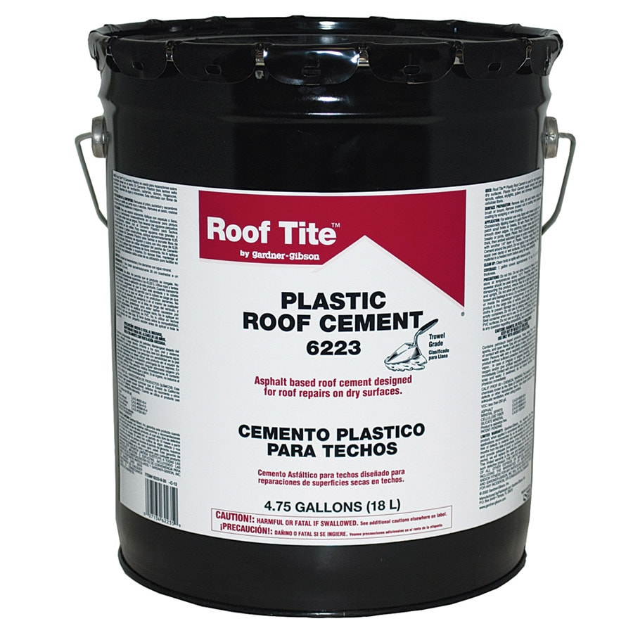 Shop Roof Tite 4 75 Gallon Waterproofer Cement Roof