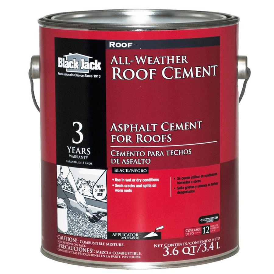 Black Jack 3 6 Quart Fibered Waterproofer Cement Roof