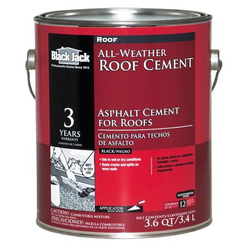 Black Jack 3 6 Quart Fibered Waterproofer Cement Roof