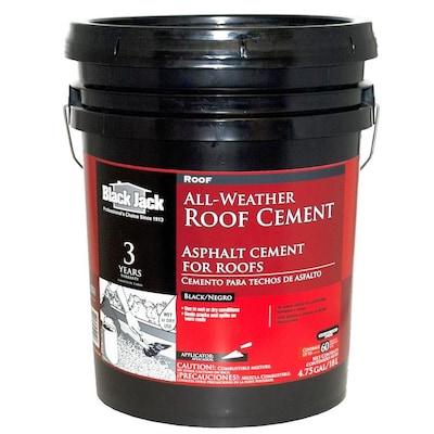 4 75-Gallon Fibered Waterproofer Cement Roof Sealant