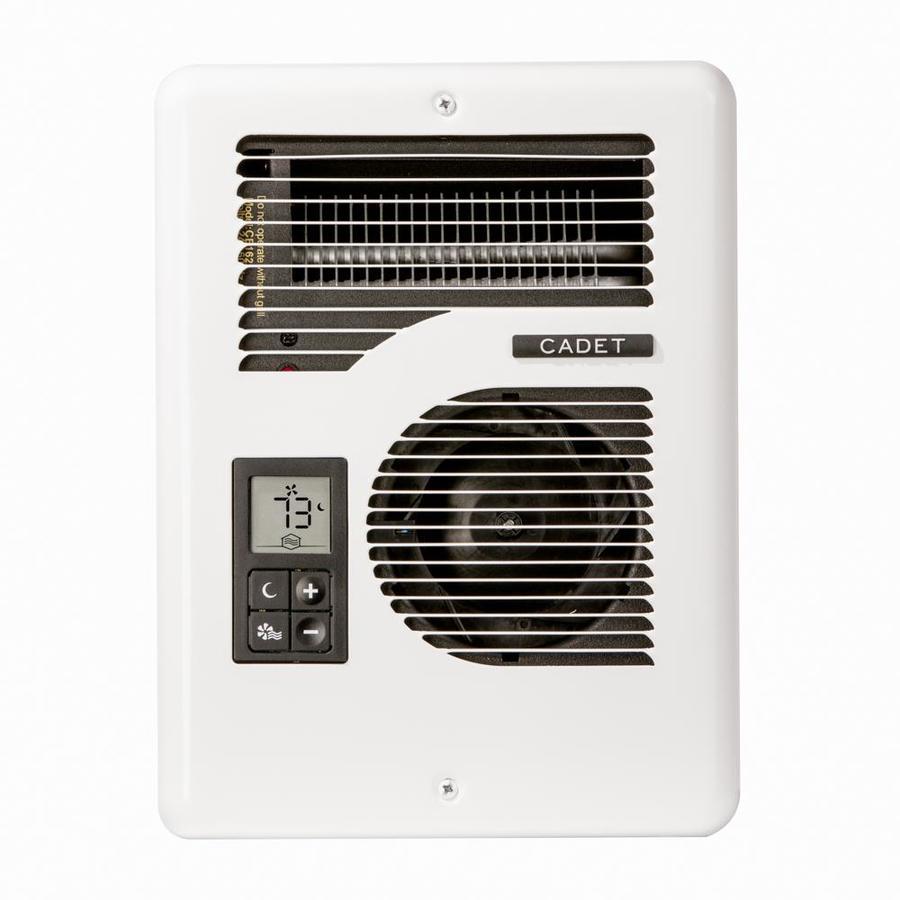 Cadet Energy Plus 1,600-Watt 120/240-Volt Fan Heater (4-in L x 12-in H Grille)