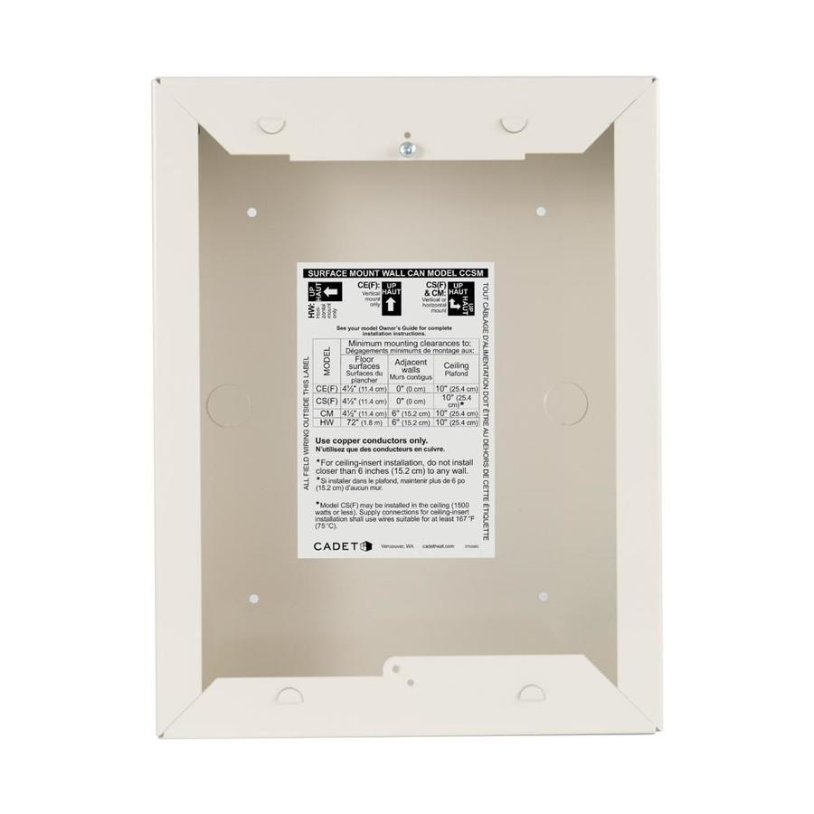 Awe Inspiring Cadet Com Pak Electric Wall Heater Mounting Frame At Lowes Com Wiring Database Numdin4X4Andersnl