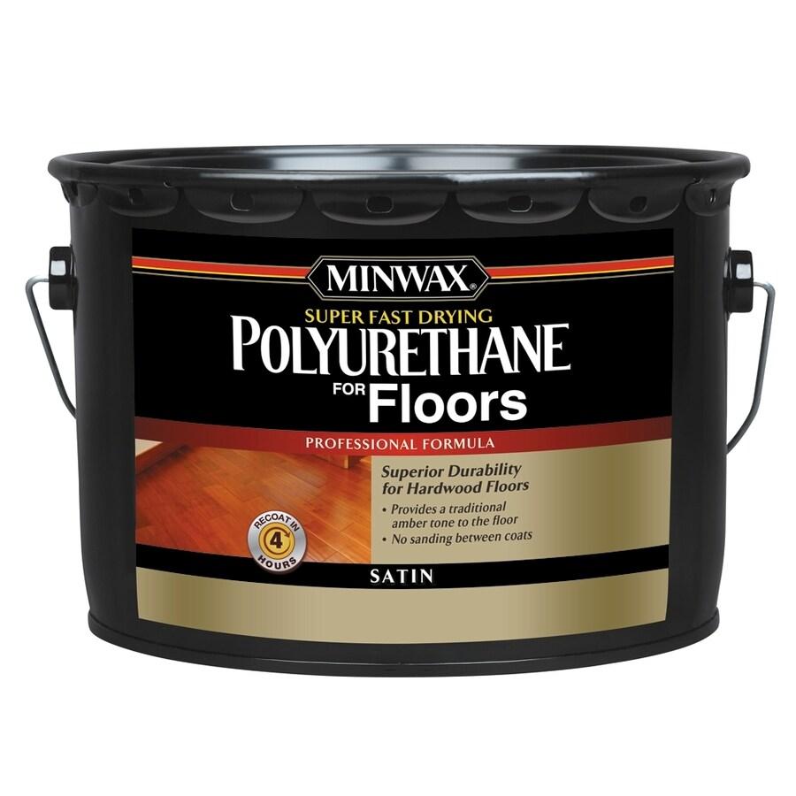 Minwax Satin Oil-Based 320-fl oz Polyurethane