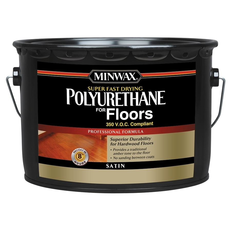Minwax Satin Oil-Based 320-fl oz Polyurethane