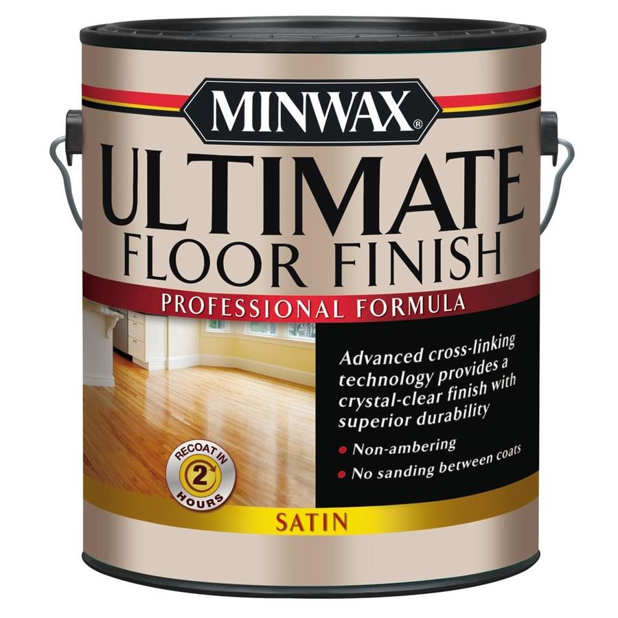 Minwax Satin Water-Based 128-fl oz Polyurethane