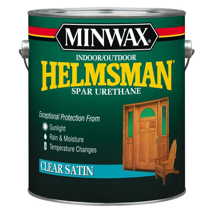 Minwax 128-fl oz Satin Oil-based Polyurethane