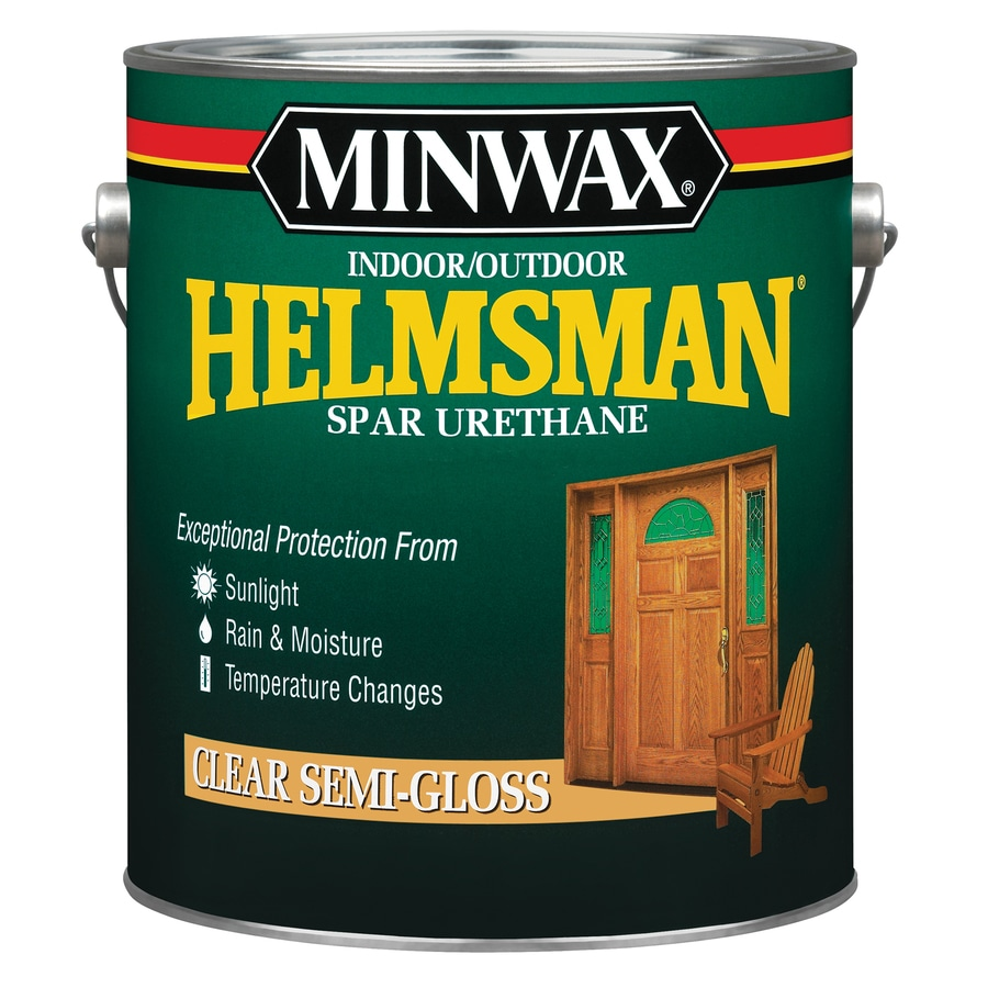 Minwax Semi-Gloss Oil-Based 128-fl oz Varnish