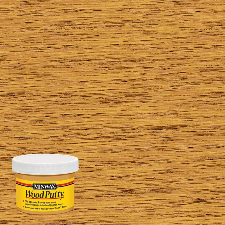 Minwax Golden Oak Wood Putty