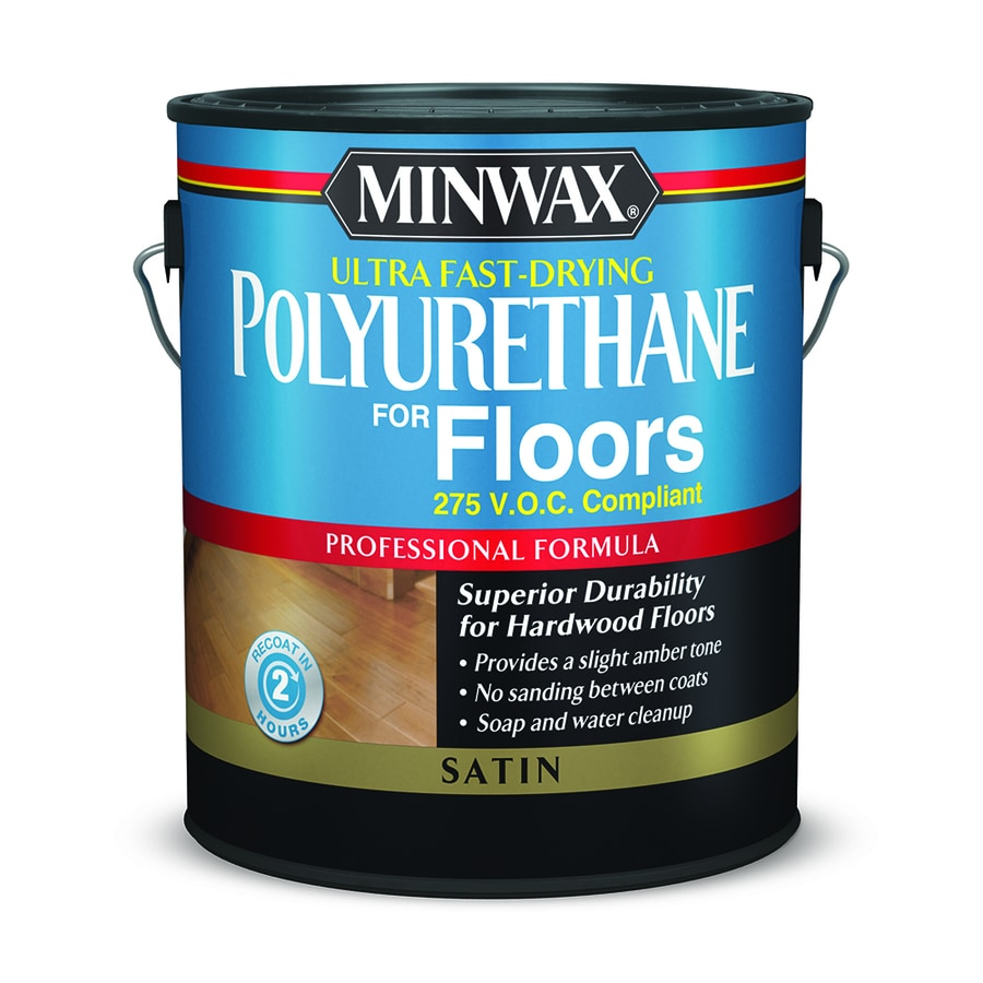 Minwax Satin Water-Based Polyurethane (Actual Net Contents ...