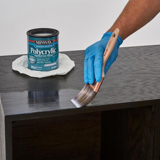 Minwax Polycrylic Semi Gloss Water Based Polyurethane 128