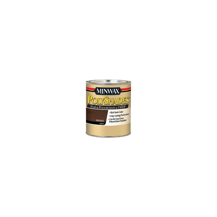 Minwax Pre-Tinted Honey Satin Interior Stain (Actual Net Contents: 8-fl oz)