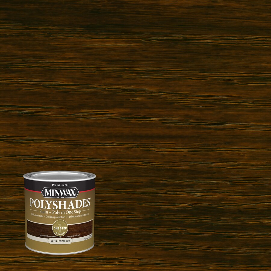 Minwax Pre-Tinted Espresso Satin Interior Stain (Actual Net Contents: 8-fl oz)
