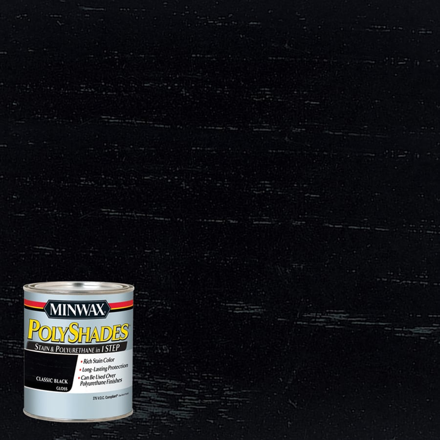 Minwax Classic Black Interior Stain (Actual Net Contents: 8 Fluid Ounce(S))