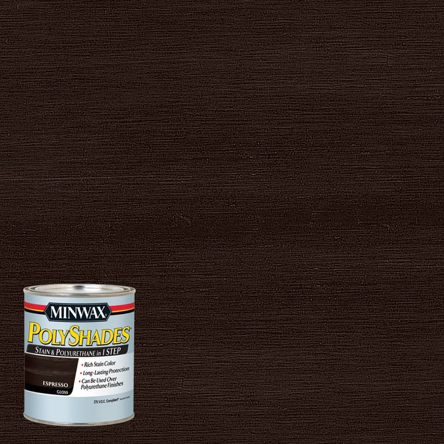 Minwax Pre-Tinted Espresso Interior Stain (Actual Net Contents: 8-fl oz)