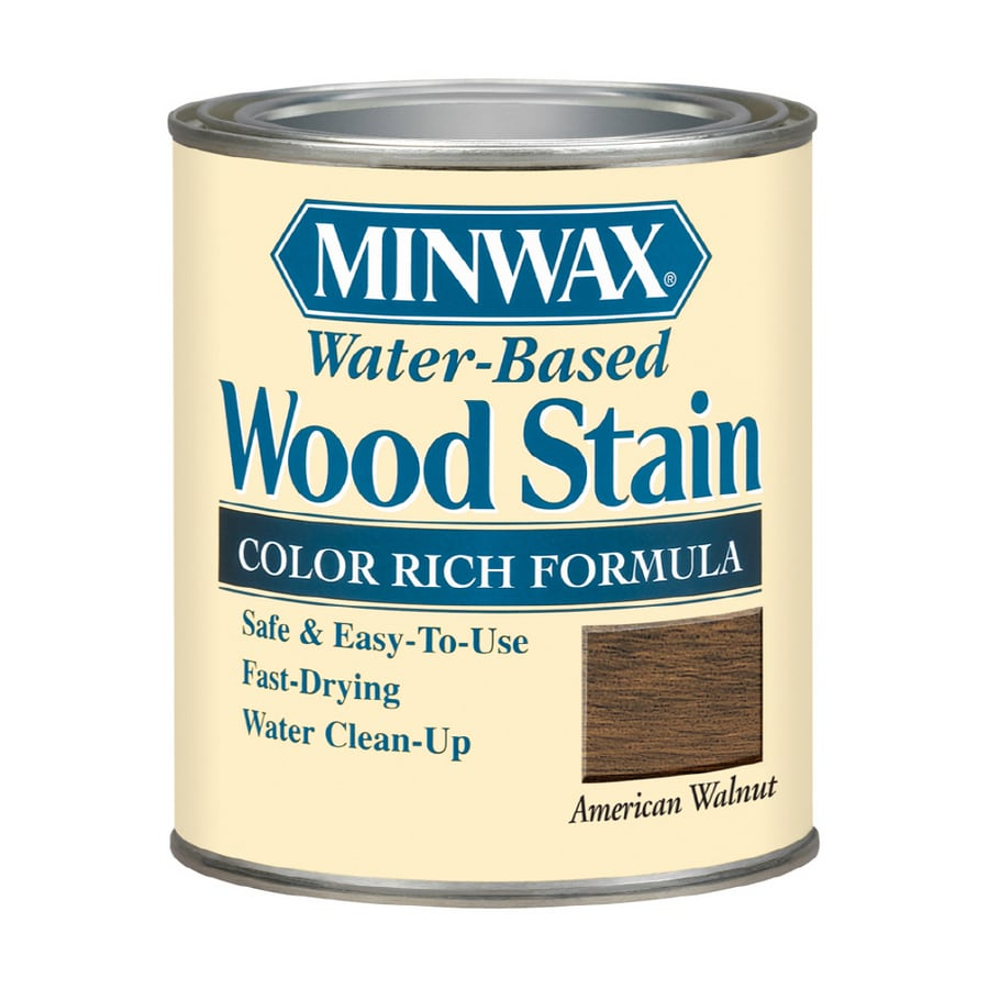 Minwax 8 Oz American Walnut Water Based Wood Stain