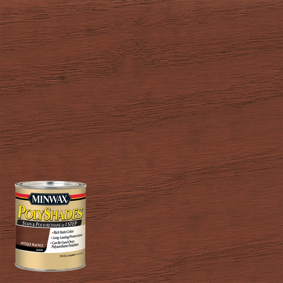 Minwax Antique Walnut Interior Stain (Actual Net Contents: 8-fl oz)