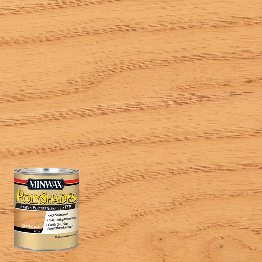 Minwax Classic Oak Interior Stain (Actual Net Contents: 8 Fluid Ounce(S))
