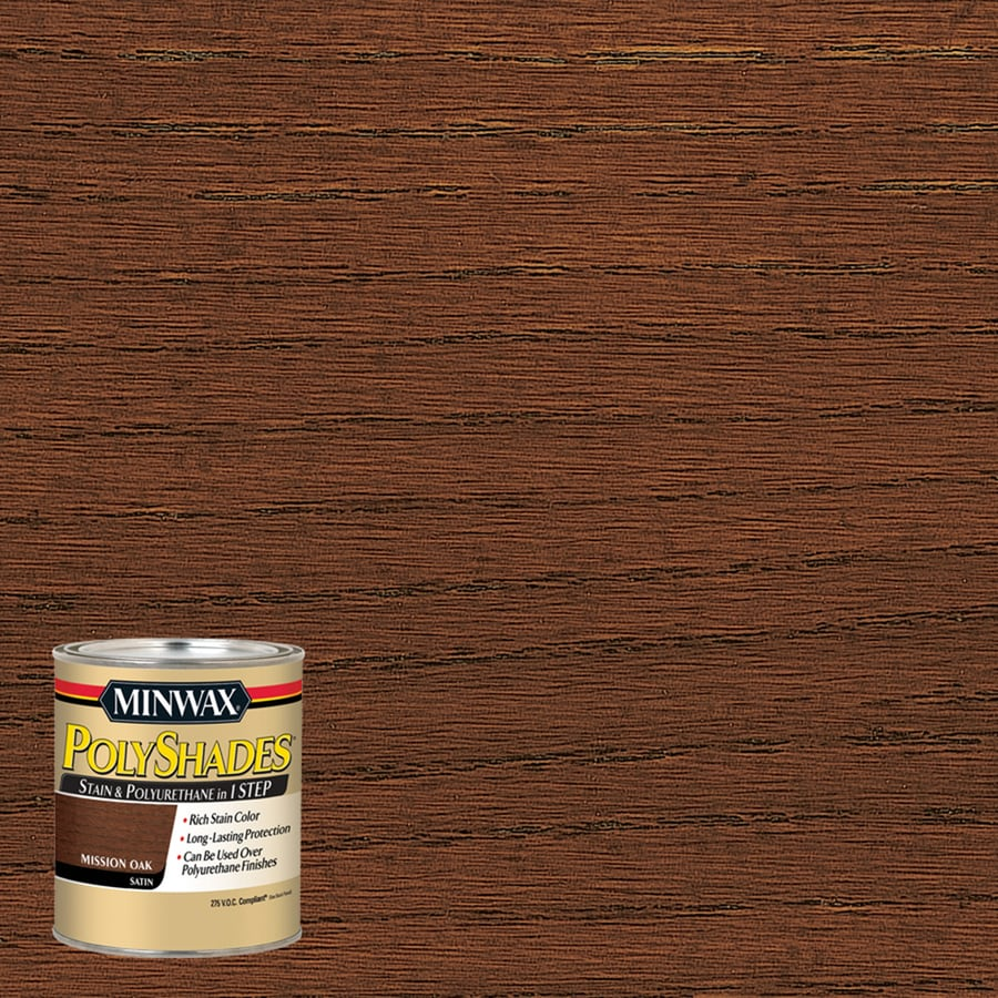 Minwax Mission Oak Interior Stain (Actual Net Contents: 8-fl oz)