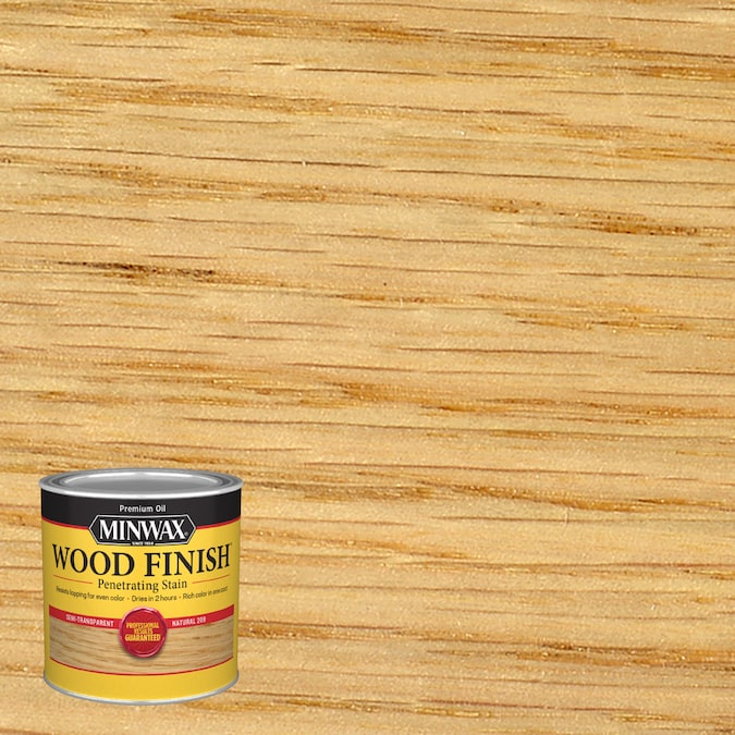 Minwax Wood Finish Natural Oil Based Interior Stain