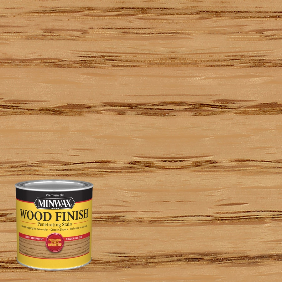 Minwax Golden Oak Interior Stain (Actual Net Contents: 8-fl oz)