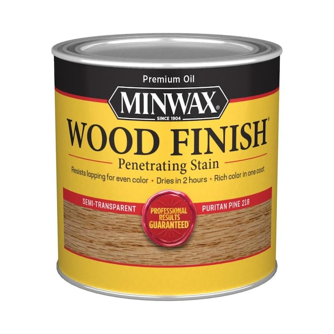 Minwax Wood Finish Puritan Pine Oil Based Interior Stain