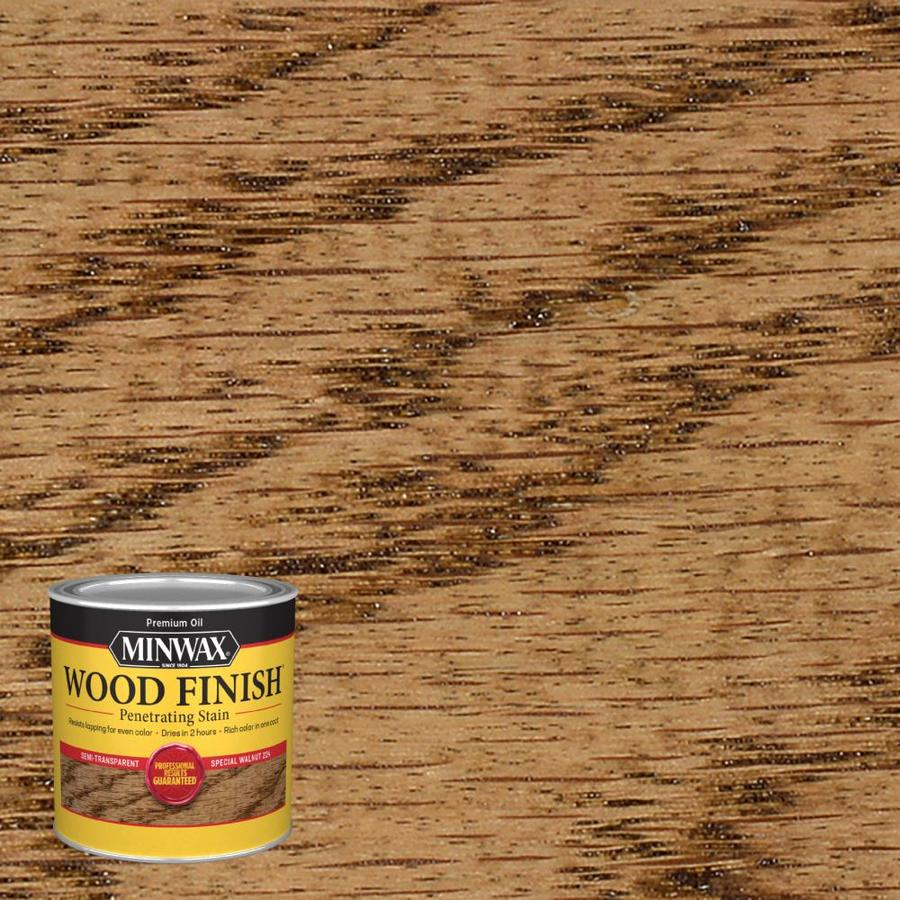 Minwax Pre-Tinted Special Walnut Interior Stain (Actual Net Contents: 8-fl oz)
