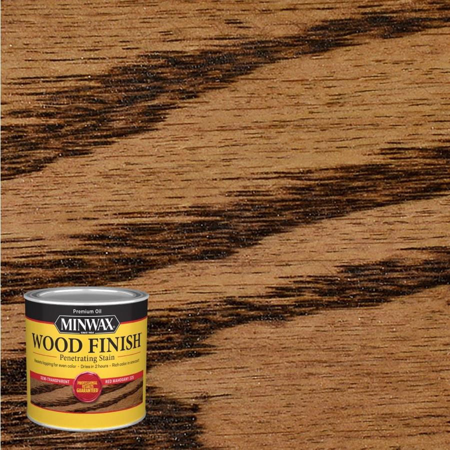 Minwax Wood Finish Red Mahogany Oil Based Interior Stain
