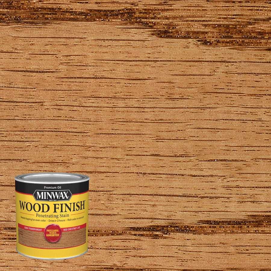 Minwax Red Chestnut Interior Stain (Actual Net Contents: 8-fl oz)