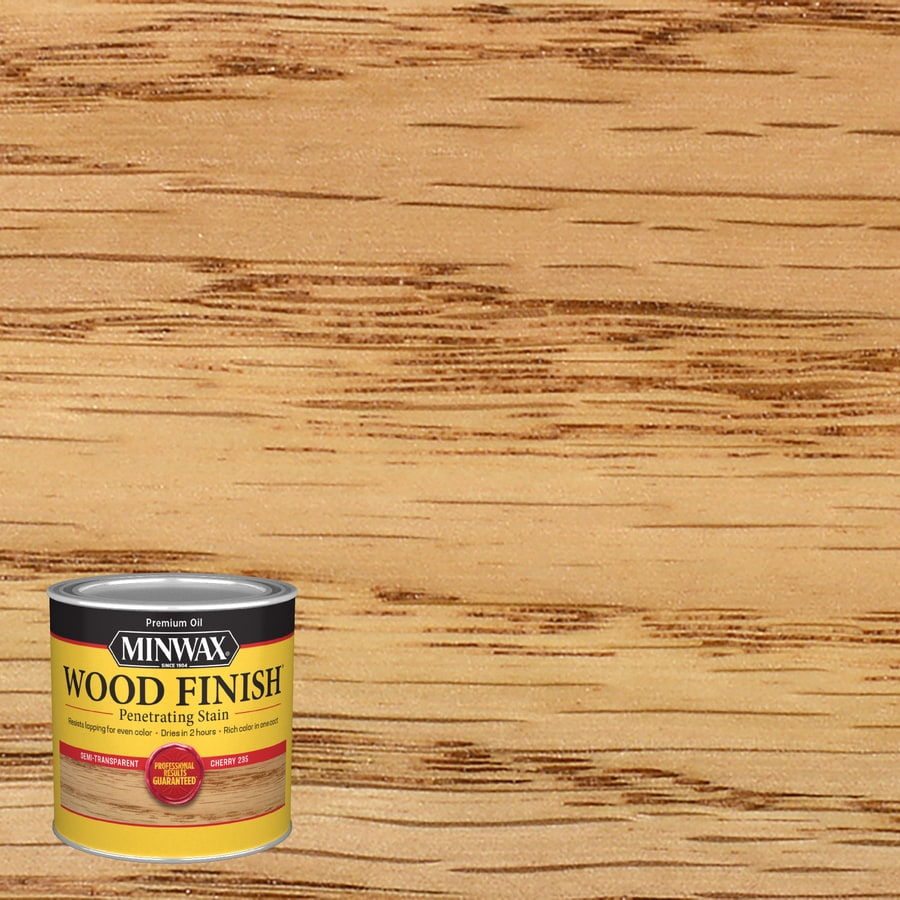 Minwax Cherry Interior Stain (Actual Net Contents: 8-fl oz)