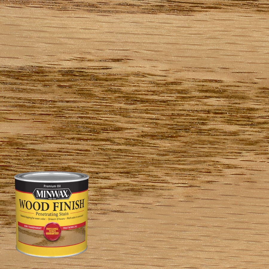 Minwax Pre-Tinted Fruitwood Interior Stain (Actual Net Contents: 8-fl oz)