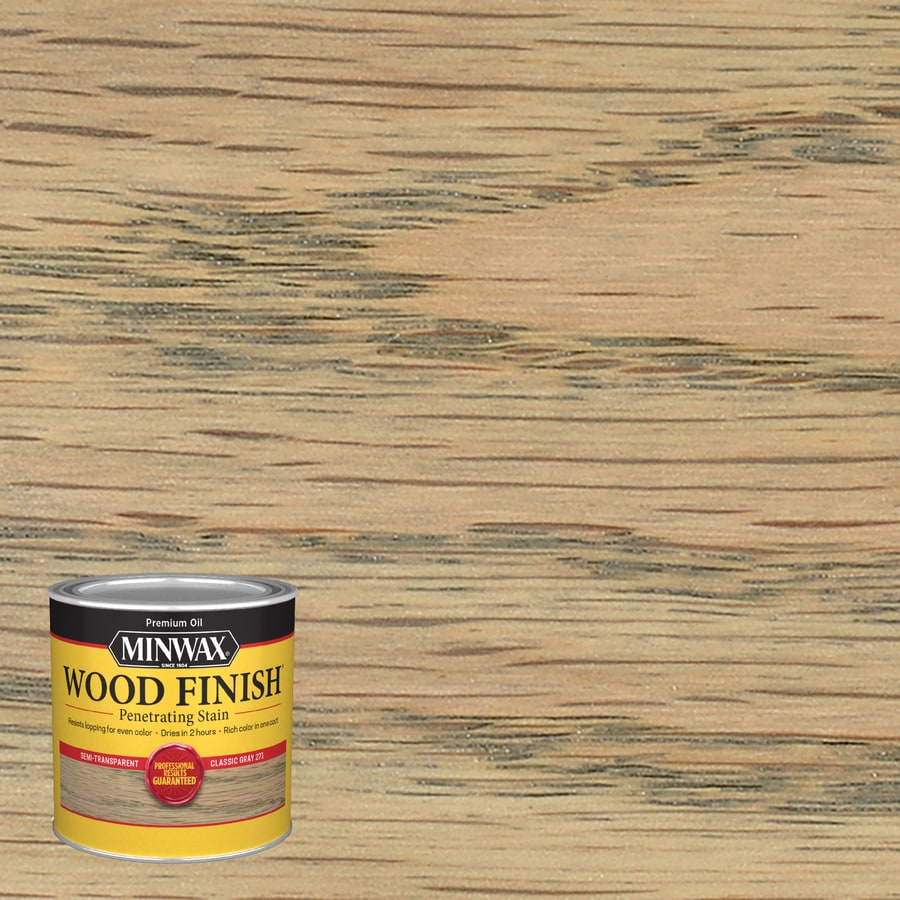 Minwax Wood Finish Classic Gray Oil Based Interior Stain Actual Net