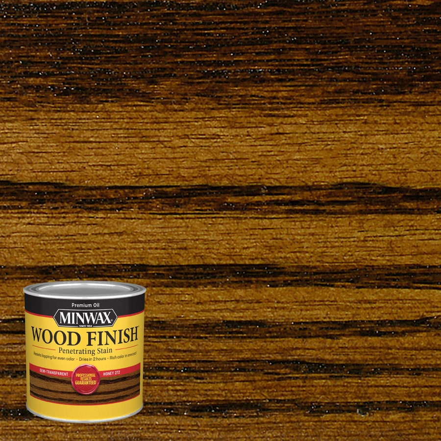 Minwax Wood Finish Honey Oil Based Interior Stain Actual