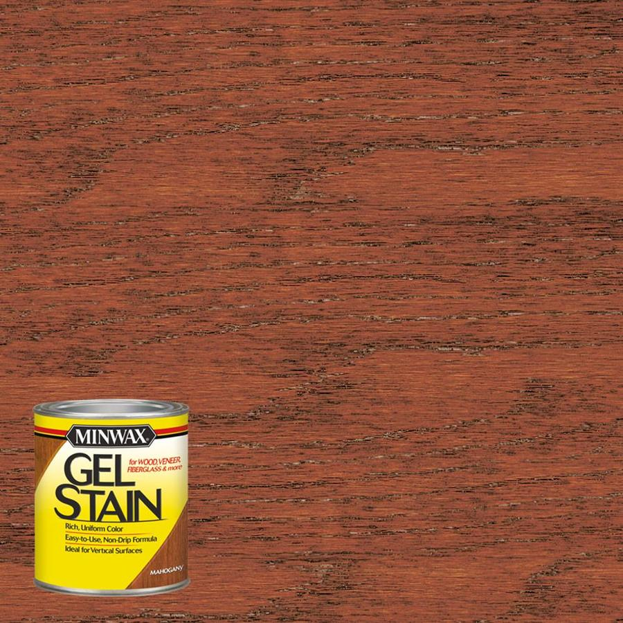 Minwax Pre-Tinted Mahogany Interior Stain (Actual Net Contents: 8-fl oz)